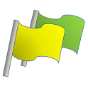 Flag Time Stamp icon