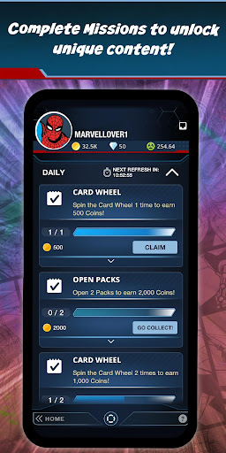 MARVEL Collect! by Toppsu00ae Card Trader 12.1.0 screenshots {n} 7