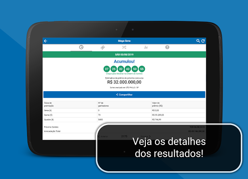 Loterias Mega Sena screenshot 14
