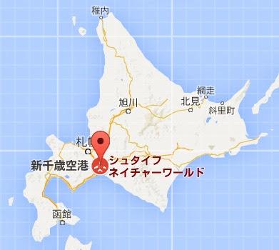 地図:シュタイフ ネイチャーワールド