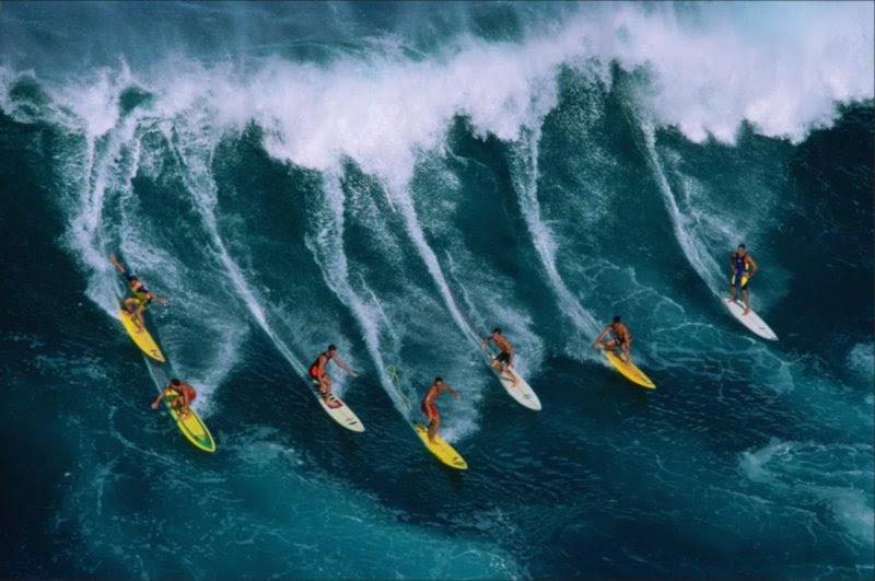 Figura 7 - Surfeando la Ola con los gigantes de la tecnología