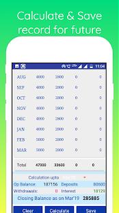 Download GPF Interest Calculator For PC Windows and Mac apk screenshot 3
