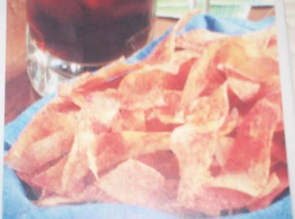 Spicy Ribbon Potato Chips Recipe