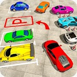 Parking Simulator Driving 3D Icon