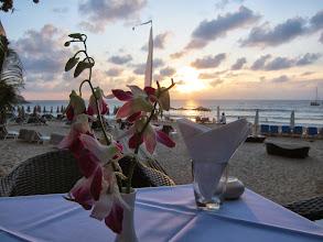 Photo: Sunset dinner, Surin Beach