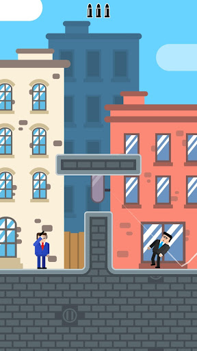 Mr Bullet - Spy Puzzles screenshots 1