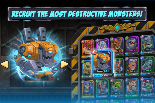 Tactical Monsters Rumble Arena -Tactics & Strategy 1.10.8 screenshots 2