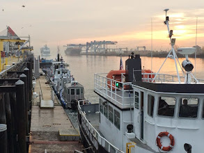 Photo: Our ferry awaits!