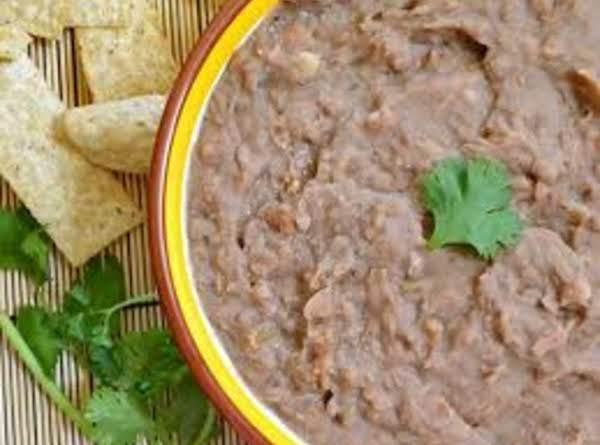 Crock Pot Refried Beans Recipe