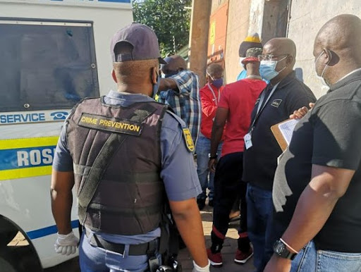 Sting operation nabs 40 people for hijacking Joburg building