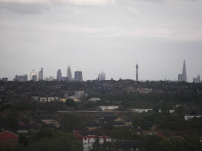 Photo: ...... links 'Canary Wharf', rechts 'The Shard' (310 meter) .....