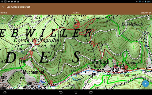 Visorando GPS randonnée 12