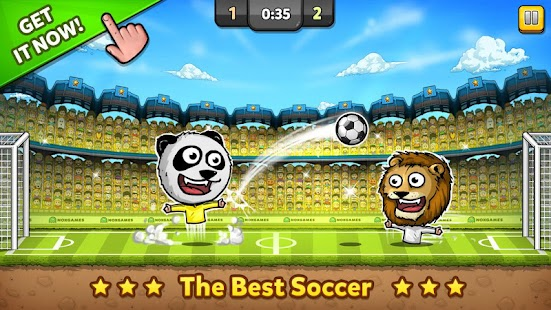 ⚽ Puppet Soccer Zoo-Football❤️- screenshot thumbnail