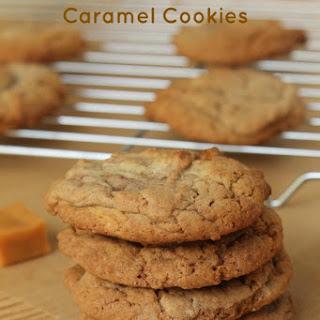 Chocolate Hazelnut Caramel Cookies