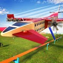 Futuristic Flying Train Simulator Taxi Train Games icon