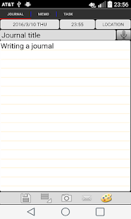 Memo Journal- screenshot thumbnail