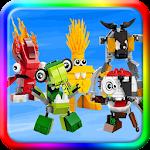Kingdom Mixels Puzzle Games Icon
