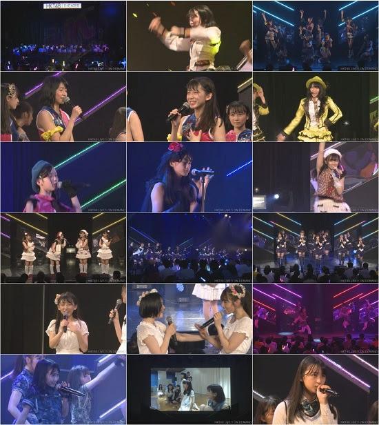 (LIVE)(720p) HKT48 チームTII+研究生「手をつなぎながら」公演 Live 720p 170713