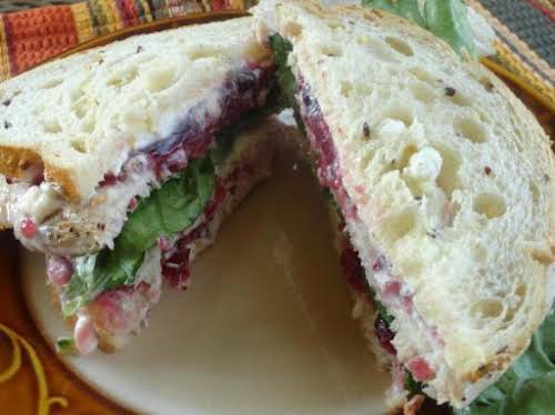 "Turkey Cranberry Sandwich ""Yummo! Great sandwich. This was the first time that..."
