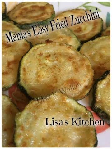 Mama's Easy Fried Zucchini