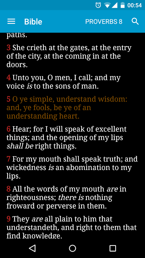 Bible with EGW Comments- screenshot