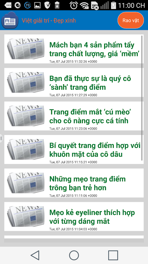 tin tuc 24 gio - mang thai- screenshot
