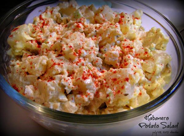 Sweet Hot Habanero Potato Salad Recipe