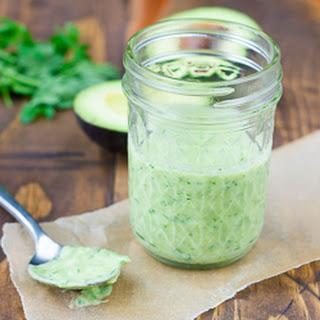 Avocado Green Goddess Dressing {Gluten-Free, Dairy-Free}.