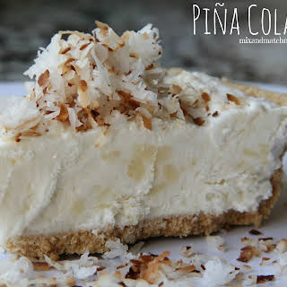 Piña Colada Pie.