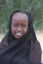 Photo: Bambina, confine Kenya-Etiopia