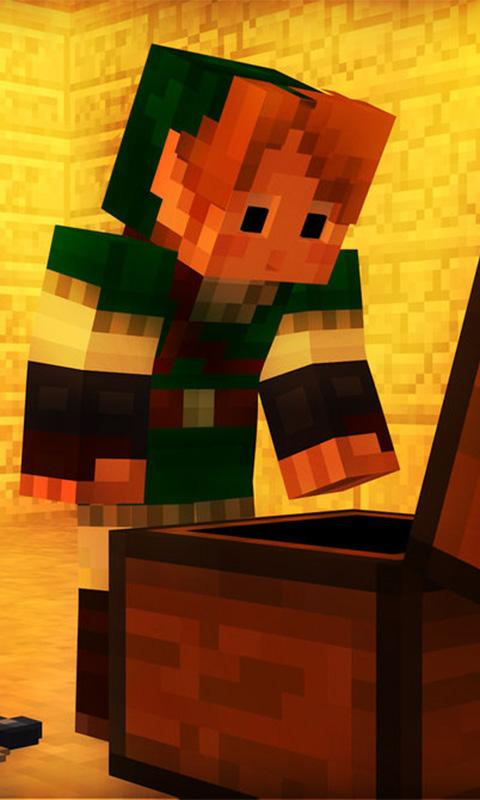 skin minecraft live wallpaper android apps on google play
