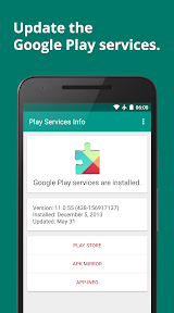 Play Services Info (Update) Apk Download Free for PC, smart TV