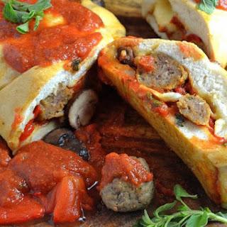 Italian Meatball Stromboli.
