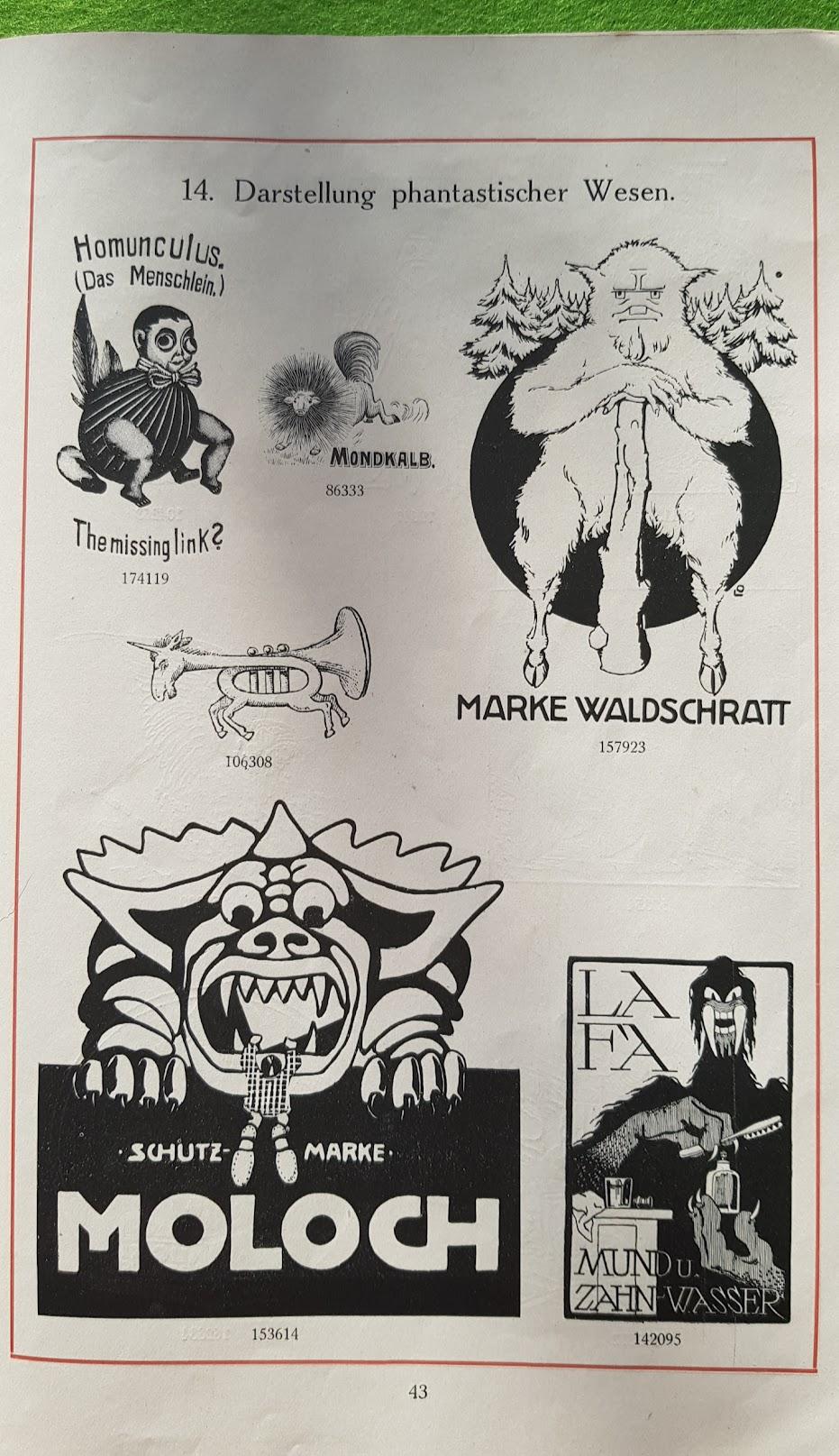 Warnezeichen-Humor - Darstellung phantastischer Wesen