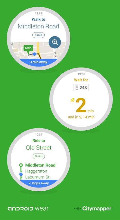 Citymapper - Bus, Tube, Rail- screenshot