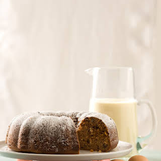 Eggnog Spice Bundt Cake.