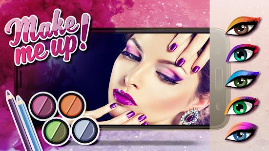 Dívky Make-up Fotomontáž - náhled