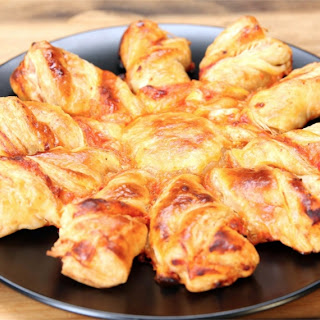 Pizza Puff Pastry Twists.