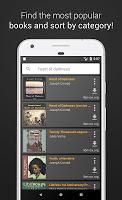 screenshot of Free Audiobooks