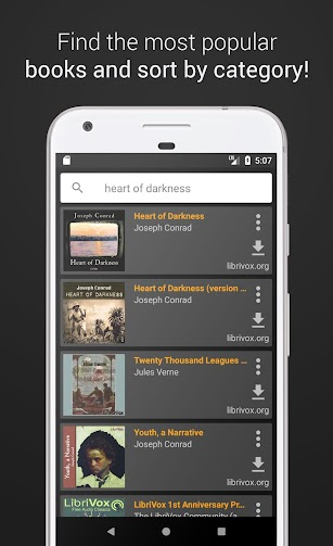 Free Audiobooks screenshot for Android