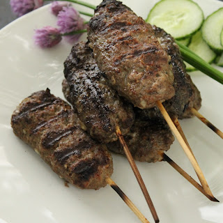 Grilled Beef Kofta Kebabs Recipe