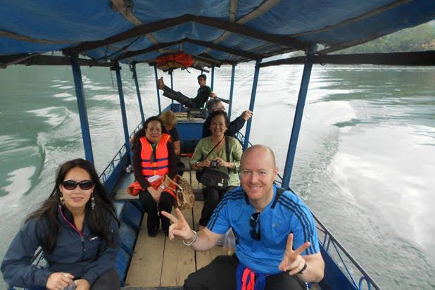 Kayaking in Ba Be