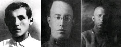Они подавляли Куреневское восстание: киевские чекисты Воробьев, Перцов, Шерстнев
