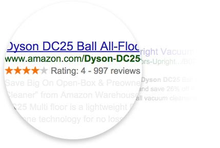 Google rich snippets для карточек товаров
