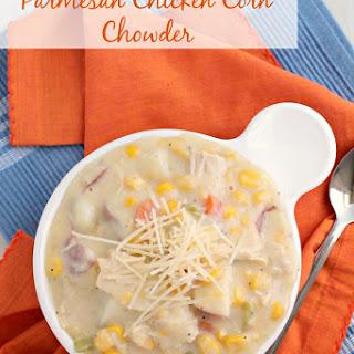 Parmesan Chicken Corn Chowder