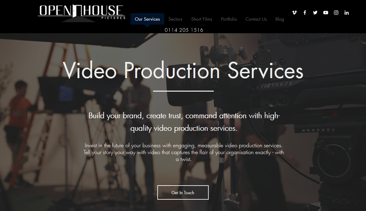 Openhouse - Best Video Production Services in the UK