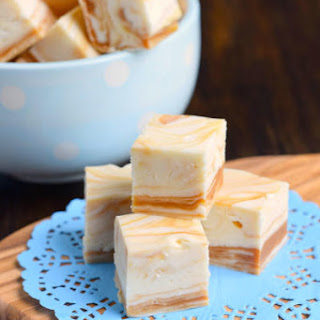 White Chocolate Caramel Fudge