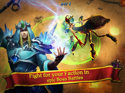 Mod Game Clash for Dawn: Guild War for Android