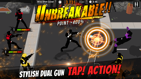 GunStrider: Tap Strike 2
