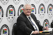 A former executive at corruption-accused facilities management company Bosasa, Angelo Agrizzi, gives testimony on January 16 2018 at the state capture inquiry in Parktown, Johannesburg.
